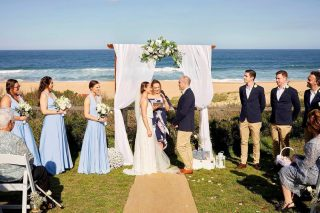 """""""I promise to be your crew, your confidant, your joker and your best friend for the rest of our lives.""""  ⠀⠀⠀⠀⠀⠀⠀⠀⠀ When you marry two avid sailers like @amymulkearns and Justin, not even their vows can escape a boating reference.@narrabeachfunctions  ⠀⠀⠀⠀⠀⠀⠀⠀⠀ #georgiafletchercelebrant #celebrant #northernbeaches #northernbeachesweddings #sydneycelebrant #weddingceremony  #weddingvendor #marriagecelebrant #marriagecelebrantsydney #instawedding #vows #sydneywedding"""